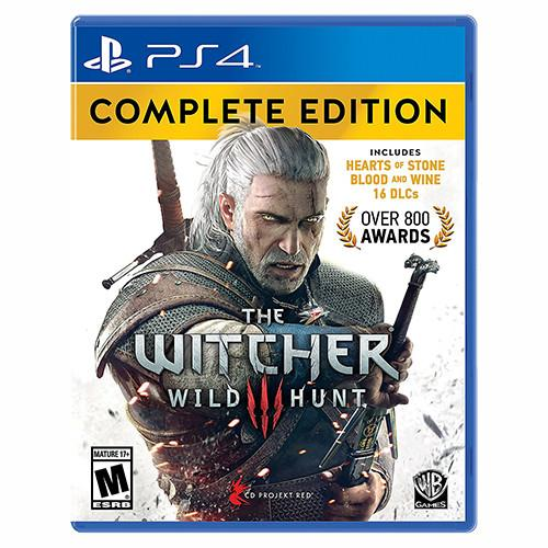 The Witcher 3: Wild Hunt - Complete Edition - PS4