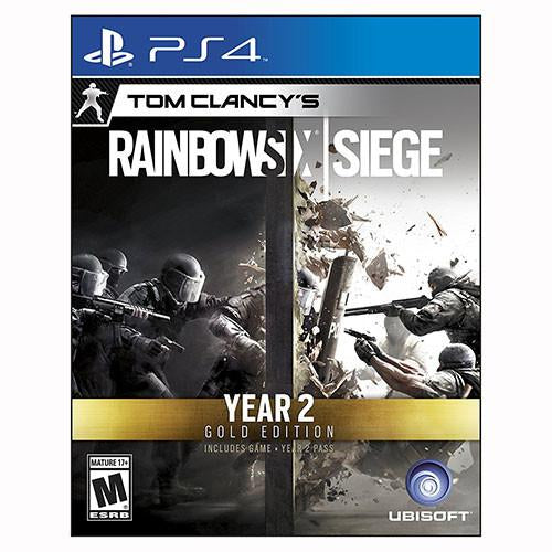 Tom Clancy's Rainbow Six Siege Year 2 Gold Edition - Playstation 4