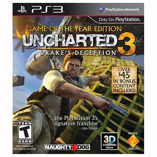 Uncharted 3 Drake's Deception - GOTY Edition - PS3