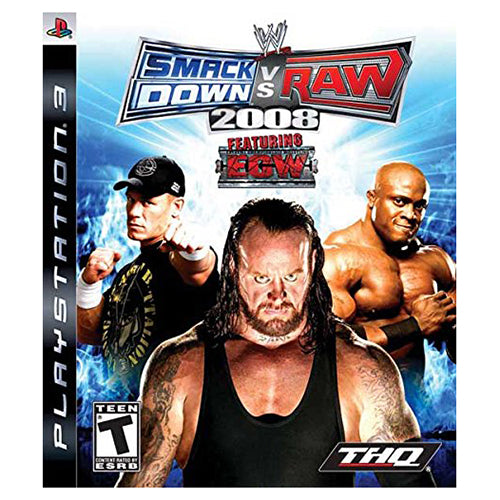 WWE SmackDown vs. Raw 2008 - PS3