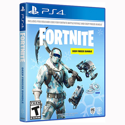 Warner Bros Fortnite: Deep Freeze Bundle - PS4