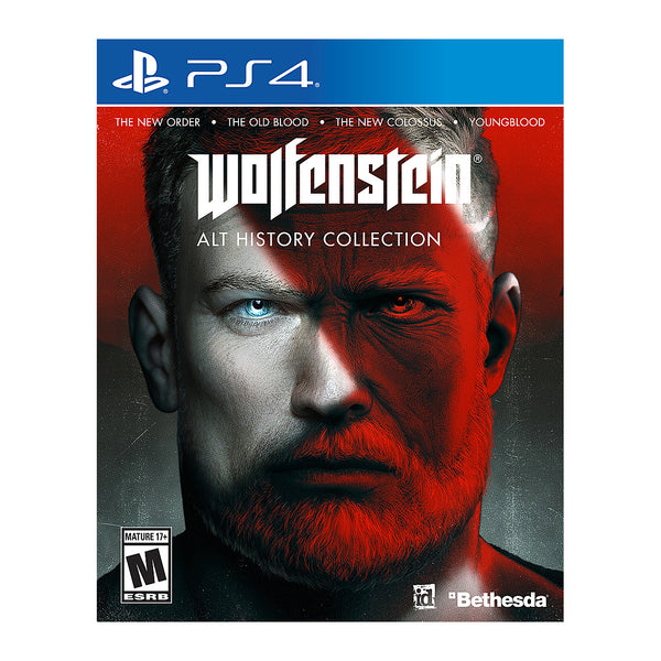 Wolfenstein: The Alternative History Collection - Playstation 4 - USA