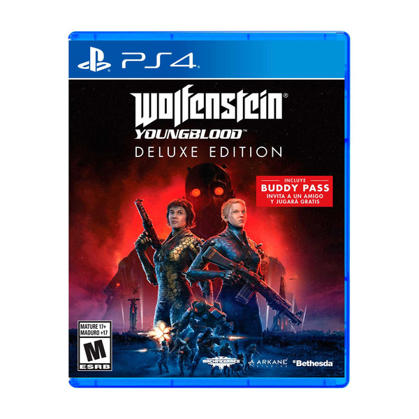 Wolfenstein: Youngblood Deluxe Edition - Playstation 4 - LATAM-Spanish/English/French