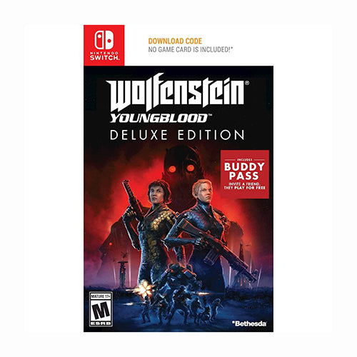 Wolfenstein: Youngblood Deluxe Edition - Switch - Original Físico Nuevo Sellado Garantizado - (GEEKSTOP)