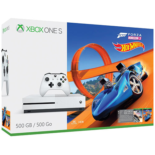 Xbox One S 500GB Console - Forza Horizon 3 Hotwheels Bundle - XBONE