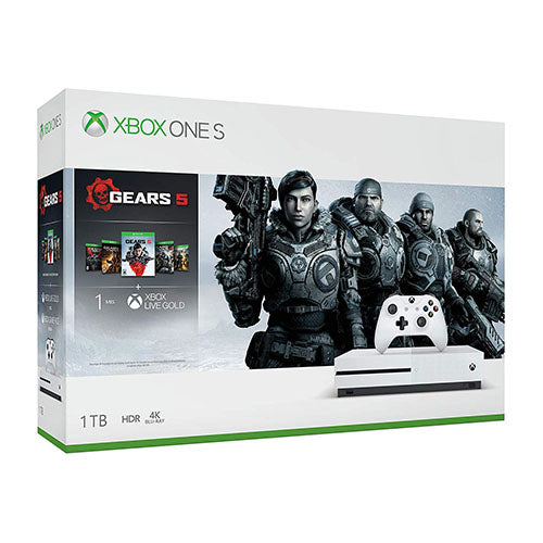 Xbox One S 1TB Console - Gears 5 Bundle - XBOX ONE