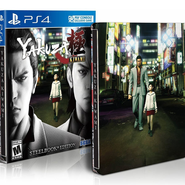 Yakuza: Kiwami - Steelbook Edition - Playstation 4
