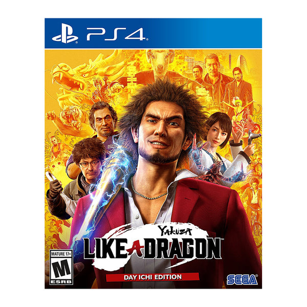 Yakuza: Like a Dragon - Playstation 4