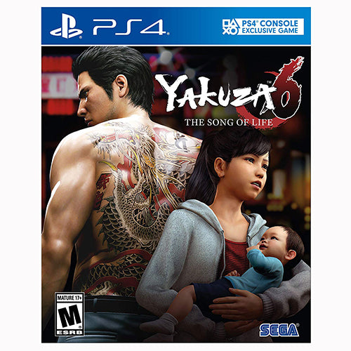 Yakuza 6: The Song of Life - PS4 - Nuevo y Sellado