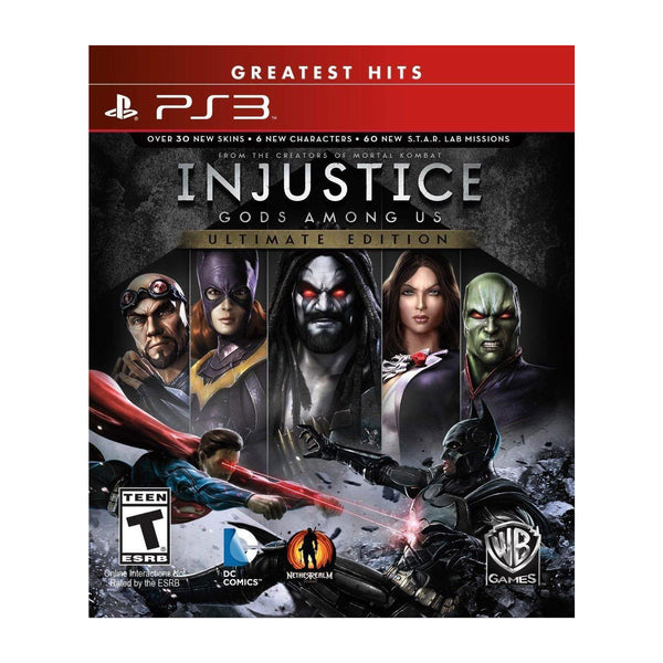 Injustice: Gods Among Us - Ultimate Edition - Greatest Hits - PS3