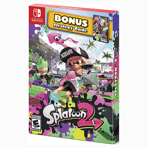 Splatoon 2 - Bonus Strategy Guide - Switch - Nuevo Y Sellado