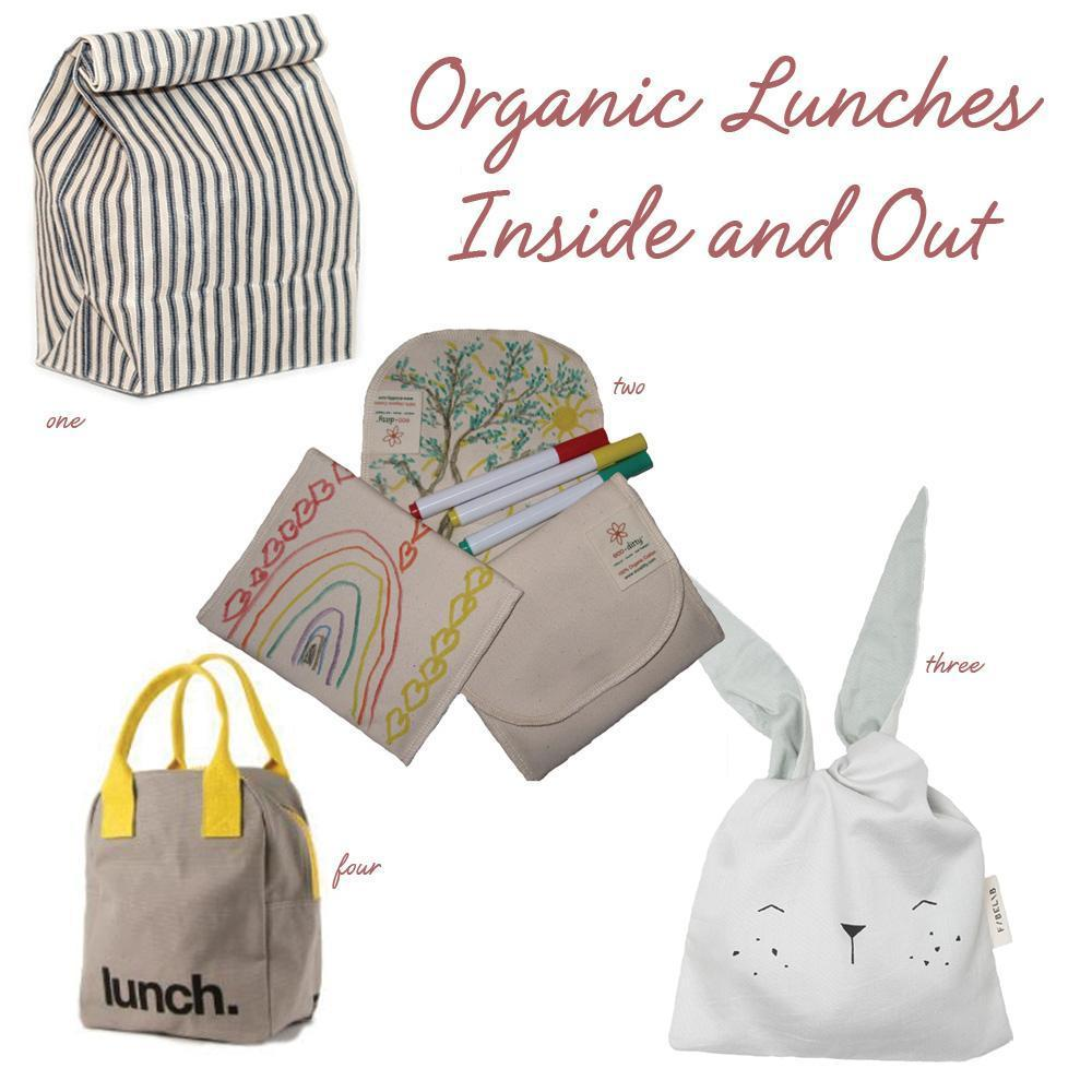 Organic Lunches Inside and Out!