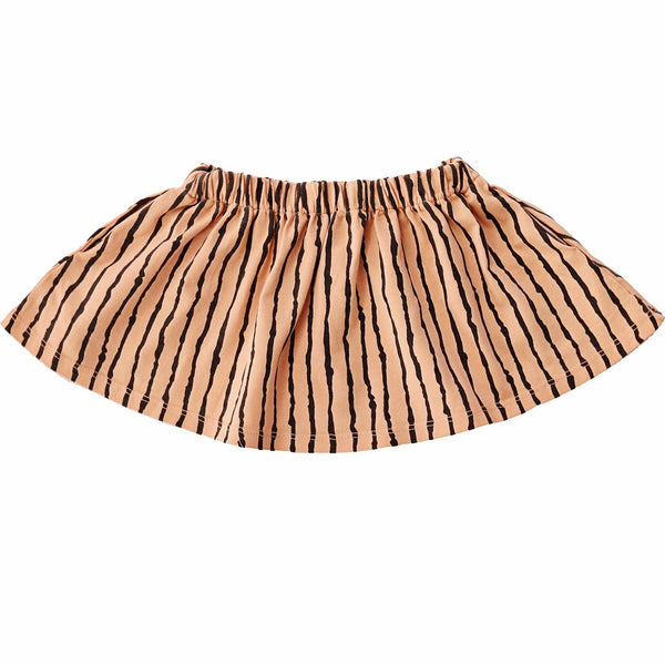 noni bee organic skirt striped pink