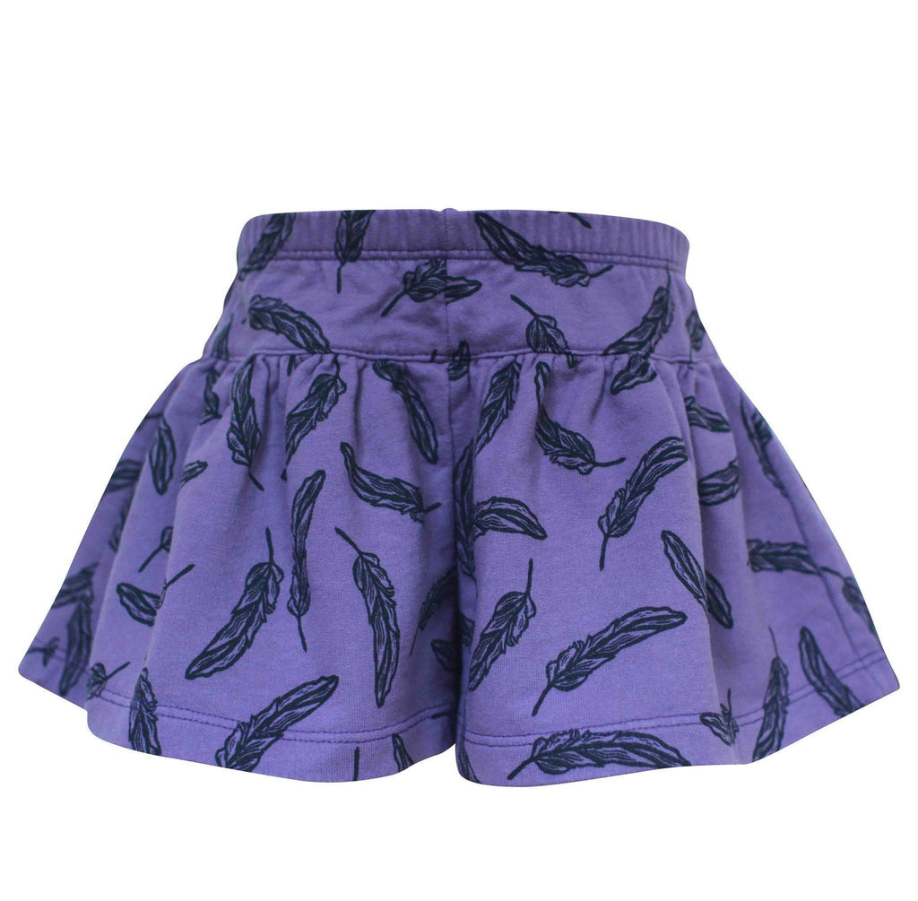 Noni Bee Organic Skort Purple Feather