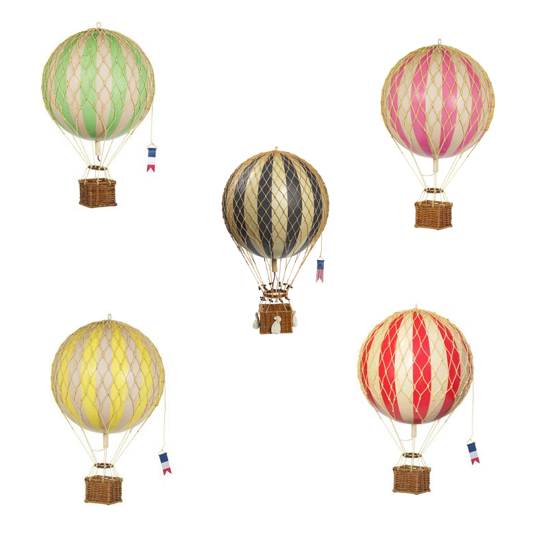 Hot Air Balloon 8.5cm Ornament