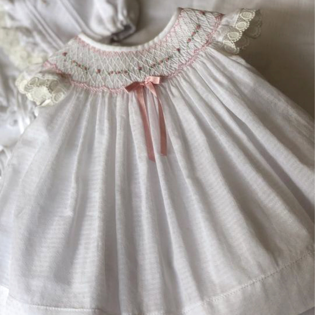 Grace Smocked Dress