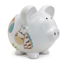 Load image into Gallery viewer, Hand Painted Piggy Bank