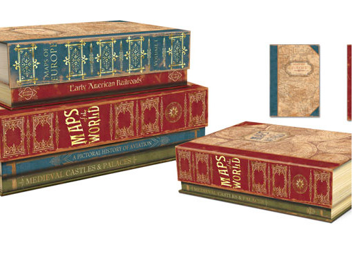 Flip Top Library Book Boxes