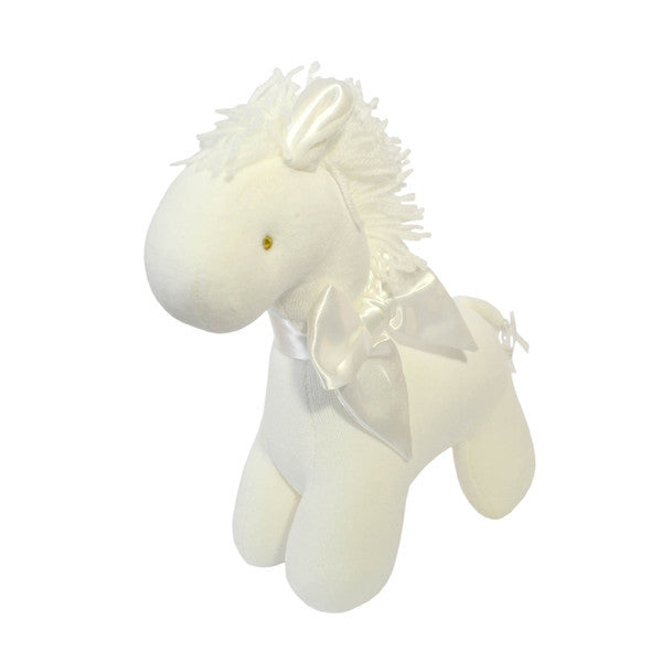 Mini Ivory Horse or Elephant Rattle