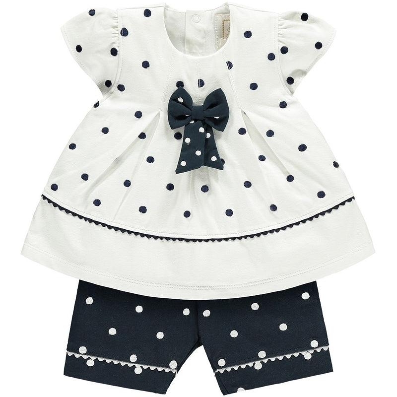 Polkadot & Bow Set