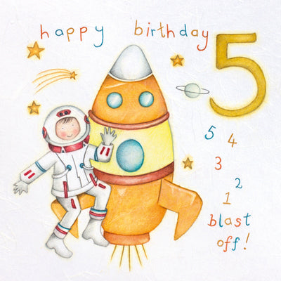 Happy Birthday 5 Card
