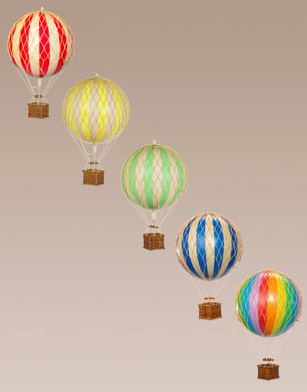 Hot Air Balloon Travels Light Edition