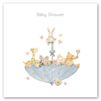 Baby Shower Toys Card