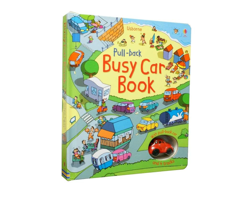 The Pull Back Busy Car Book