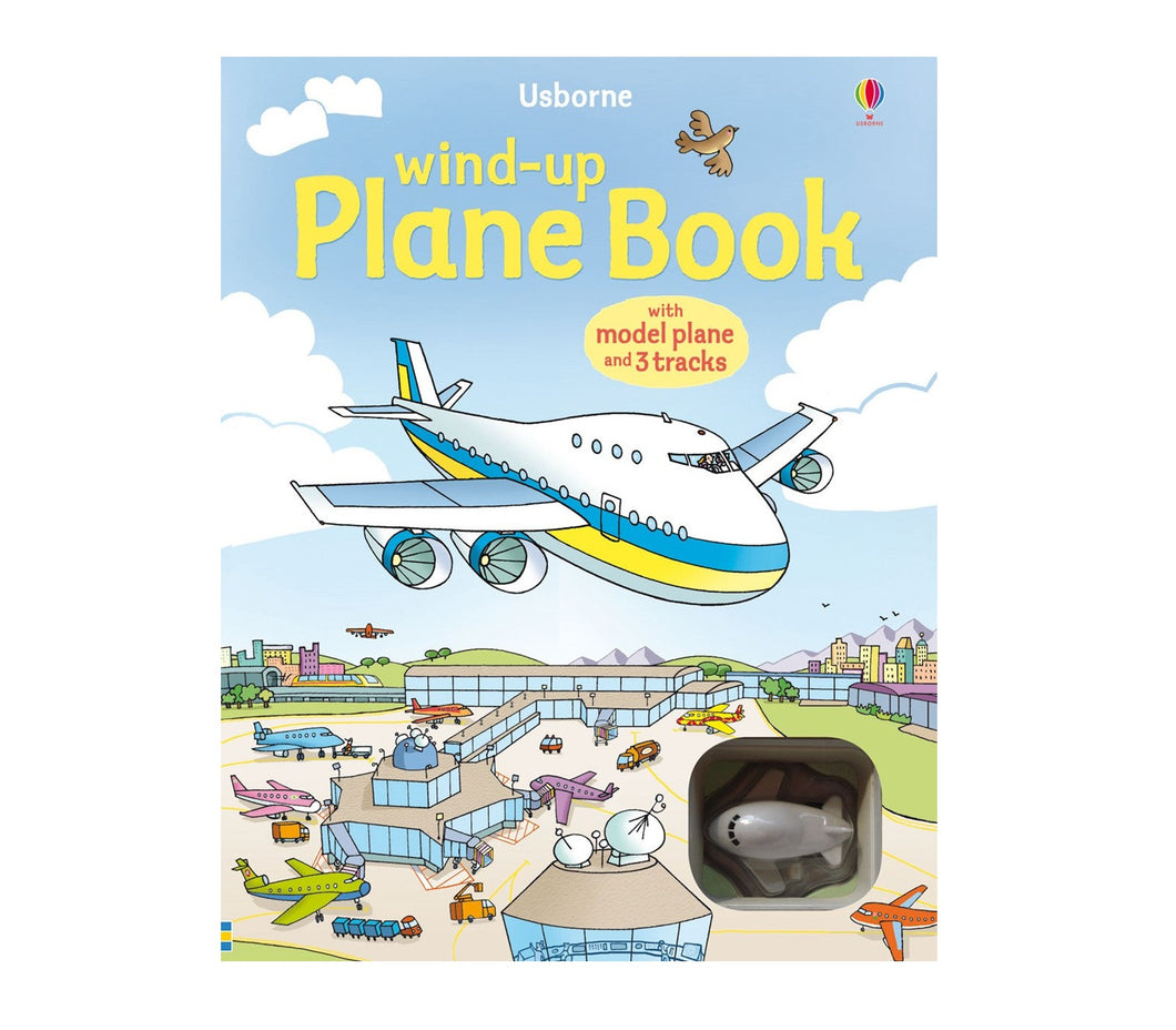 Plane Wind-Up Book