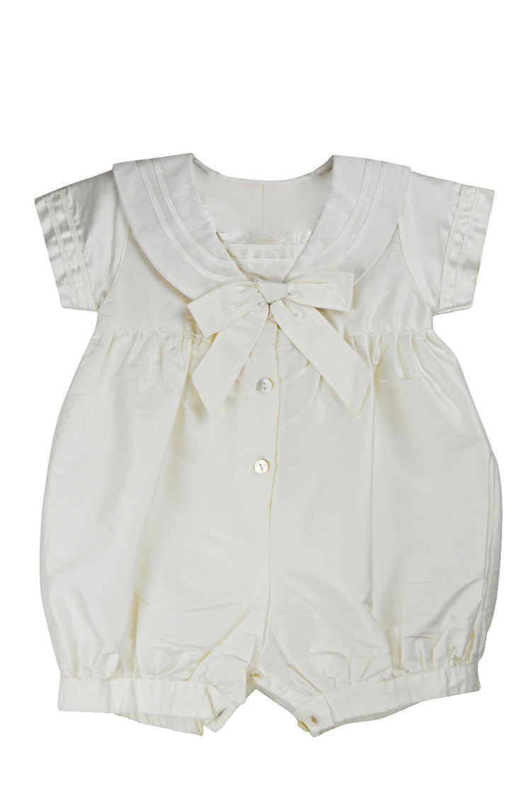 Sailor Silk Romper