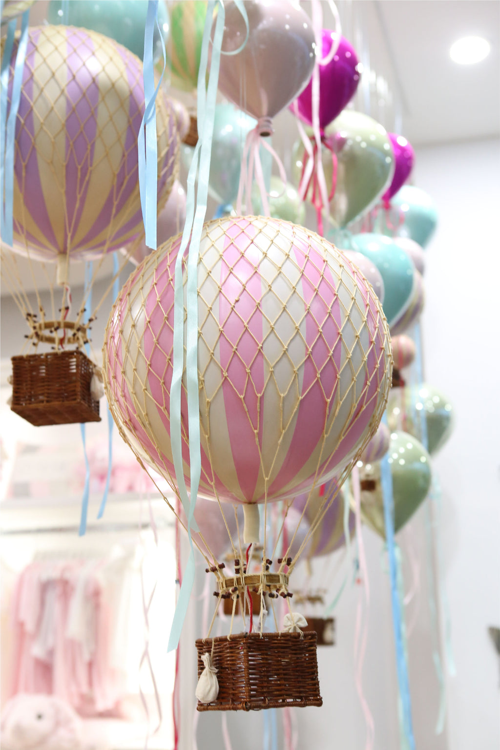 Royal Vintage Hot Air Balloon