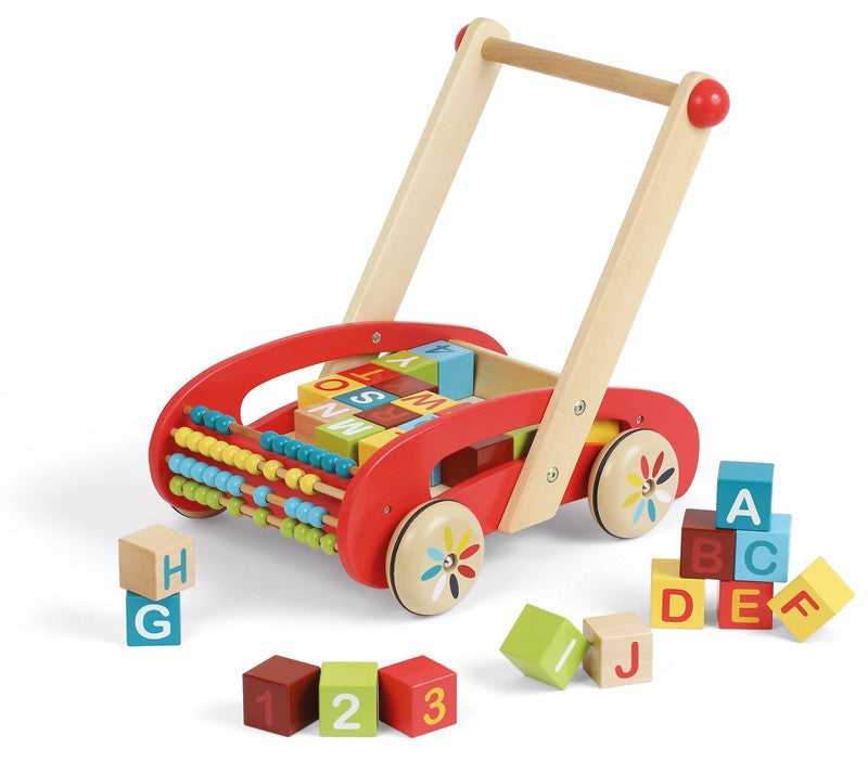 Wooden ABC Walker