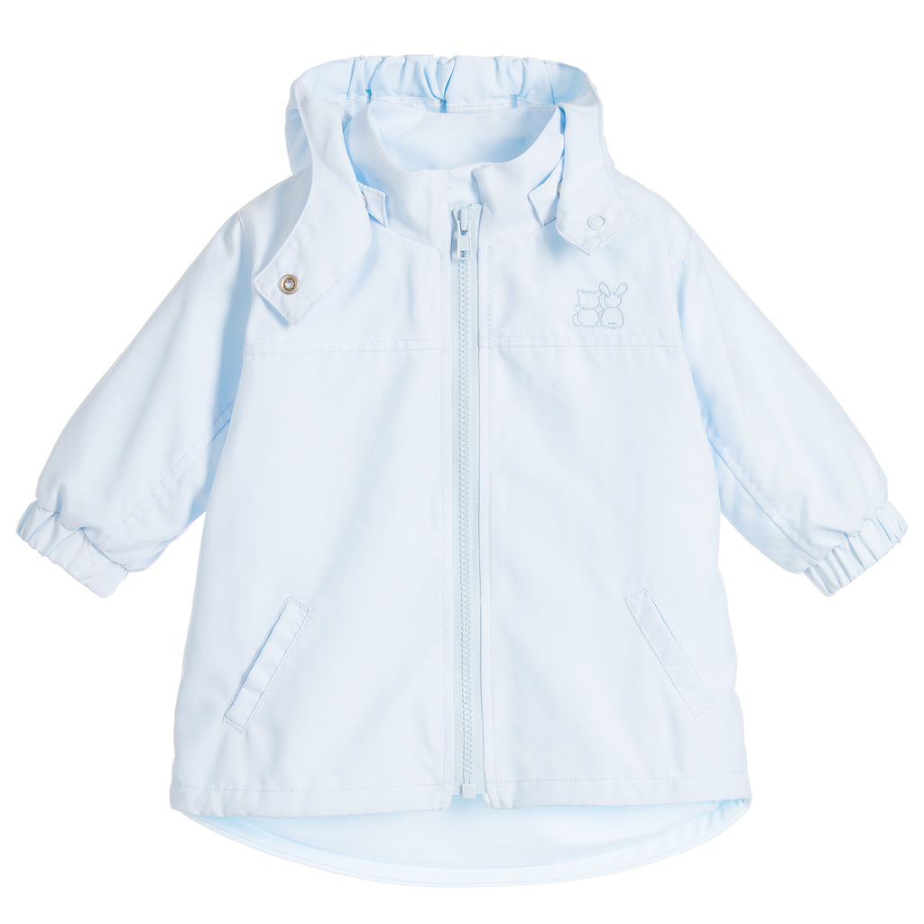 Jacket with detachable hood P Blue