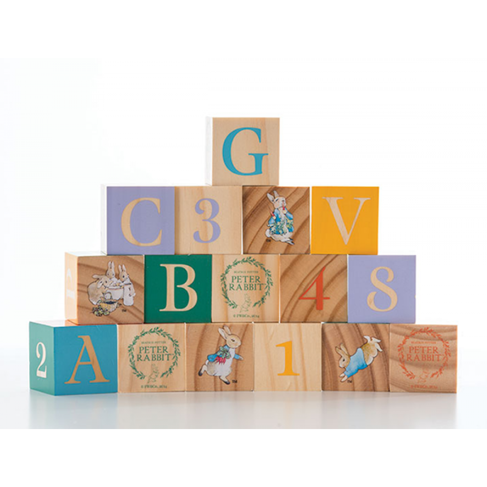 Peter Rabbit Wooden Learning Blocks