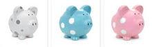 Load image into Gallery viewer, Piggy Bank - Polka Dot