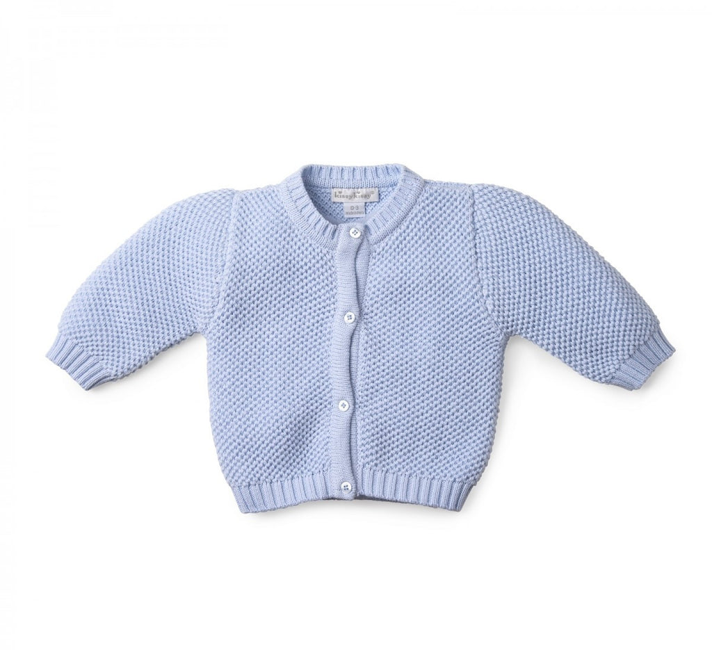 Cardigan - 100% Cotton Fine Knit Cardigan