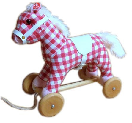 Musical Pull Along Pony - Cherry Ripe