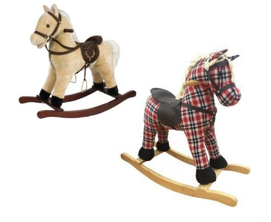Boys Musical Rocking Horse