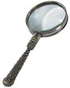 Magnifying Glass - Rococo Bronze
