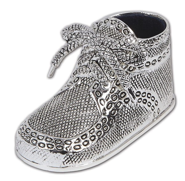 Silver Birth Record Shoe