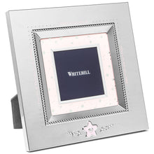 Load image into Gallery viewer, Photo Frame - Silver with Star 21cm