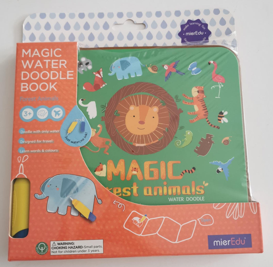Forest Animals Magic Water Doodle