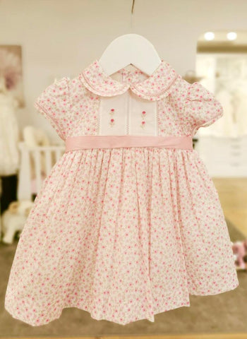 Pearl Smocked Dress