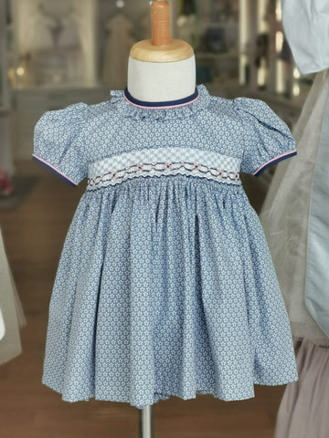Isobel Smocked Dress