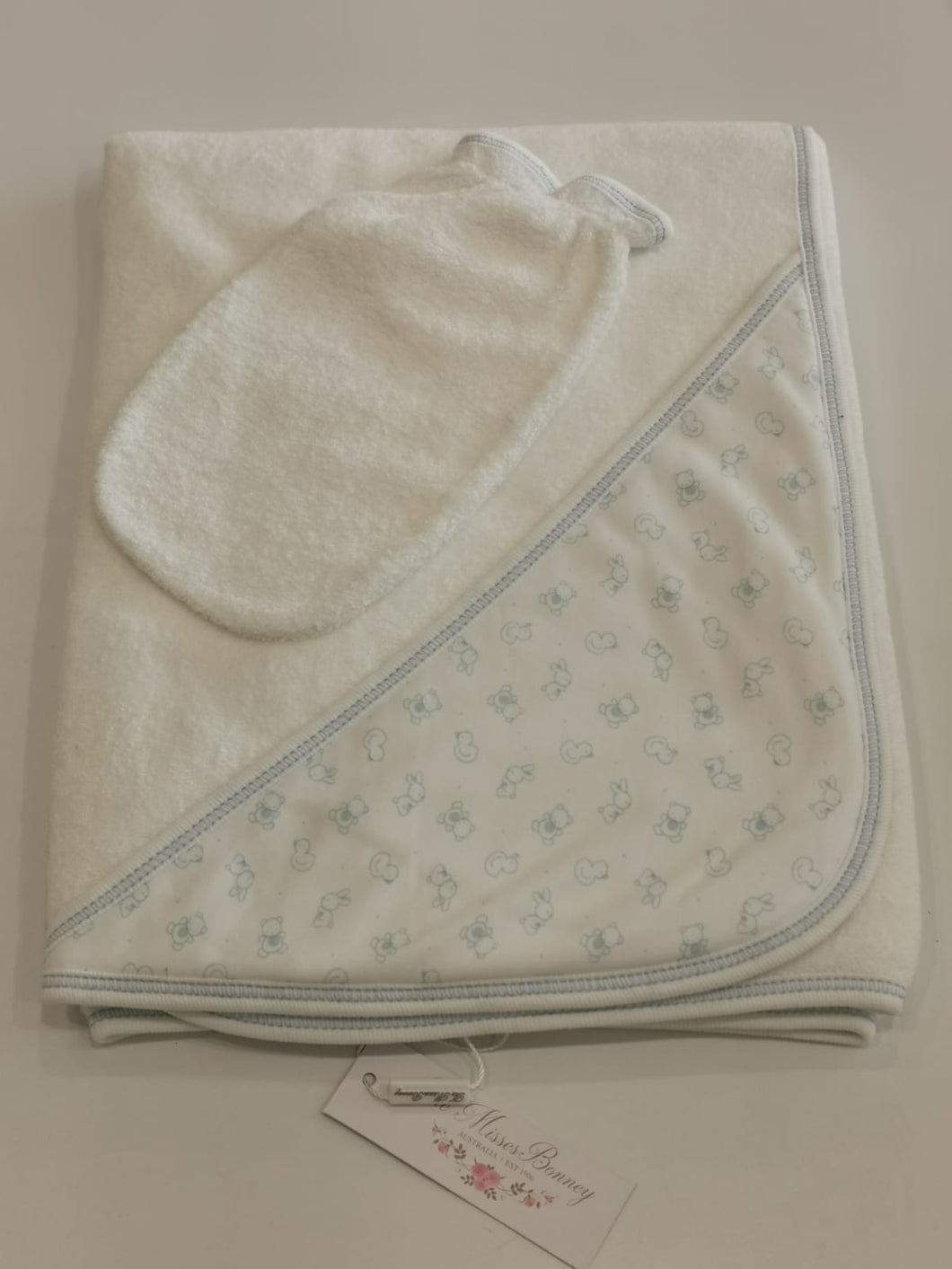 Carousel Light Blue Towel Set