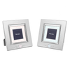 Photo Frame - Silver with Star 21cm