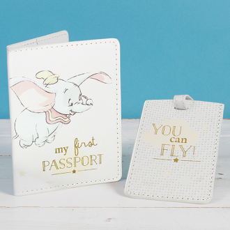 Dumbo Passport & Luggage Tag