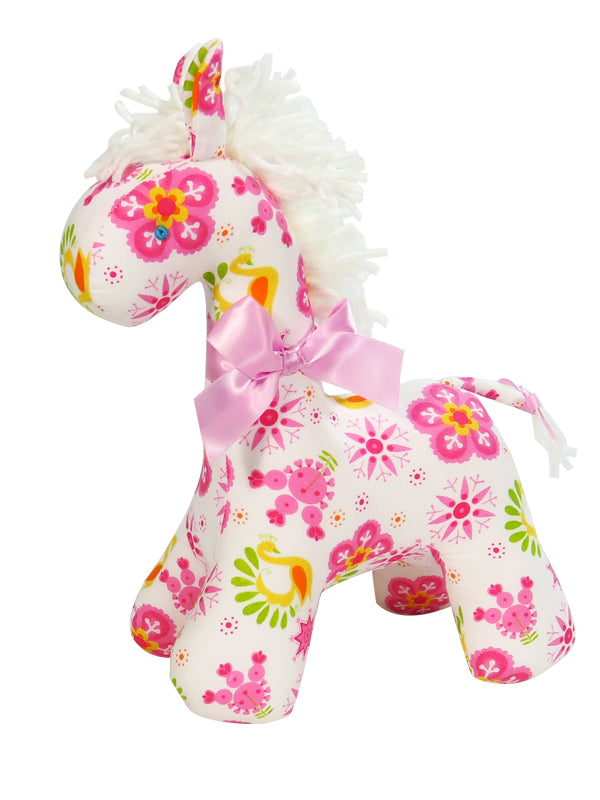 Snowflake Horse Rattle