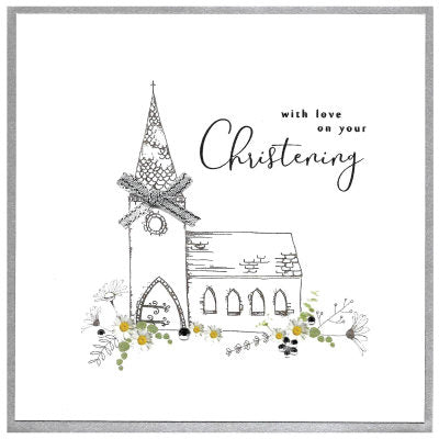 With Love On Your Christening Card