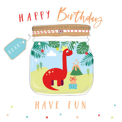Happy Birthday Have Fun Card